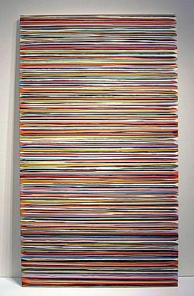WENDI HARFORD, HUMDINGER latex acrylic on canvas