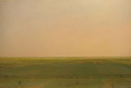 PETER DI GESU, WANDA'S ROAD oil on canvas