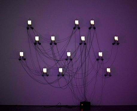 DAVID ZIMMER, CHORUS LCD video constructions