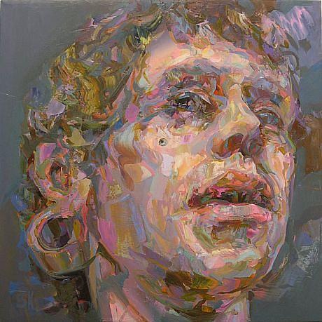 STEFAN KLEINSCHUSTER, ADAM oil on canvas