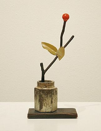 """DAVID KIMBALL ANDERSON, UNTITLED """"Morris Graves"""" painted steel"""