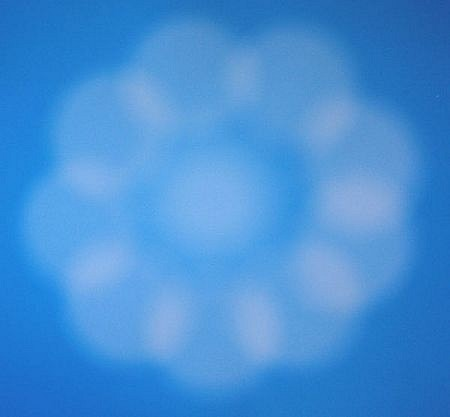 BILL ARMSTRONG, BLUE SPHERE 438 1/10 C-print
