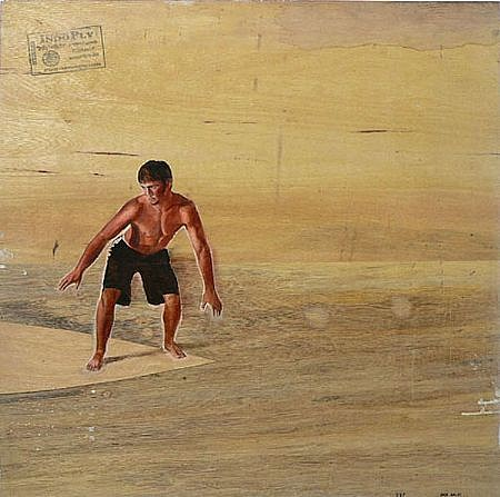 JACK BALAS, INDO PLY oil on board