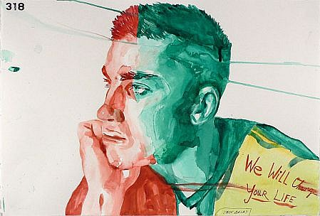 JACK BALAS, WE WILL CHANGE watercolor