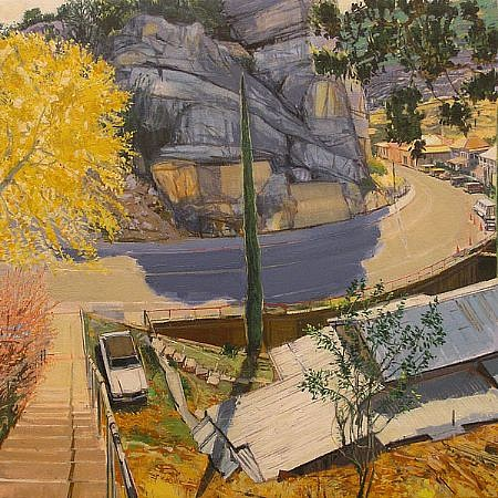 JIM COLBERT ESTATE, BISBEE, ARIZONA oil on canvas
