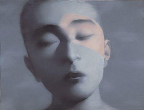 ZHANG XIAOGANG, BOY 13/68 silkscreen