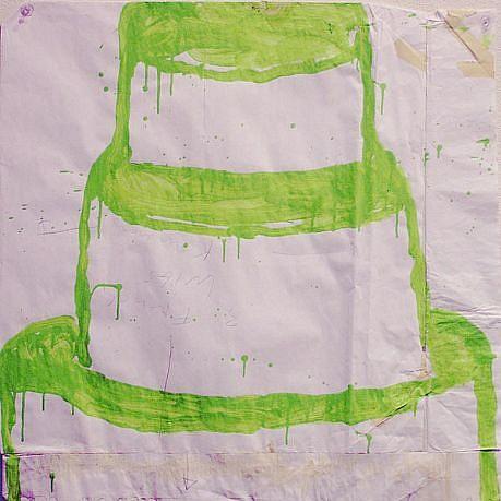 GARY KOMARIN, UNTITLED acrylic on paper