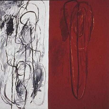 DALE CHISMAN ESTATE, URIZEN oil on canvas