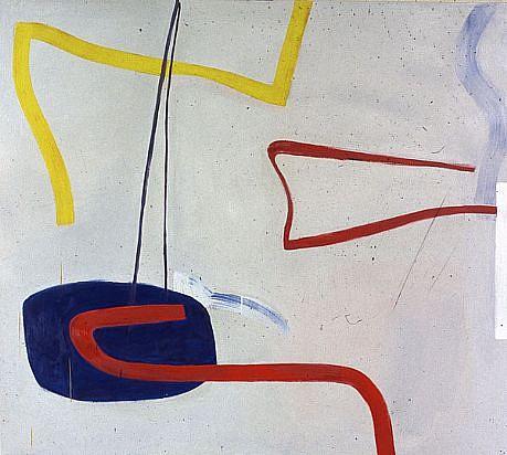 DALE CHISMAN ESTATE, PALABRA oil on canvas