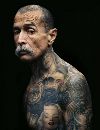 ERIC SCHWARTZ, CHUCO, WARRIOR 1/3 pigment print on canvas on DiBond aluminum