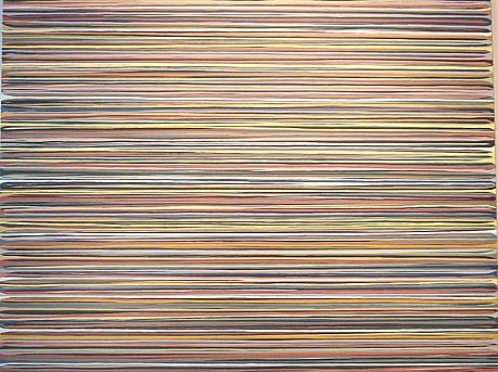 WENDI HARFORD, UNTITLED (DRIP #2) latex acrylic on canvas