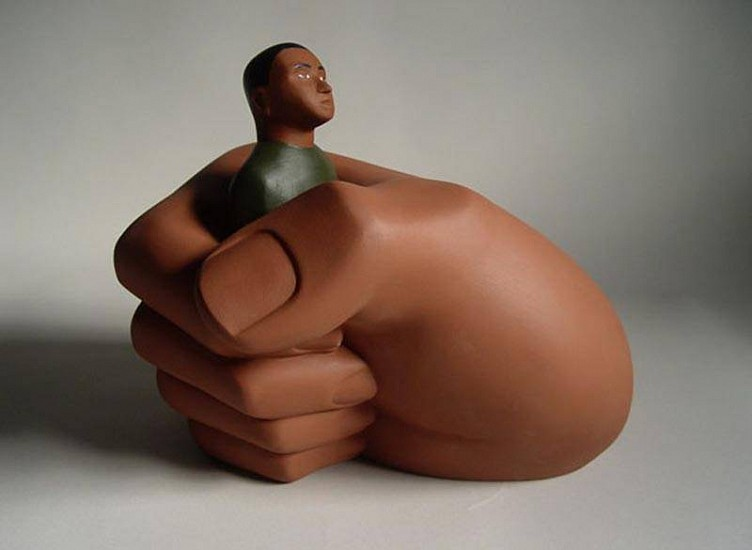 TOM NUSSBAUM, HAND MAN 1/6 acrylic on resin