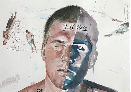 JACK BALAS, FULL CIRCLE watercolor