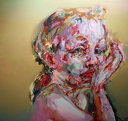 STEFAN KLEINSCHUSTER, INARA I oil on canvas