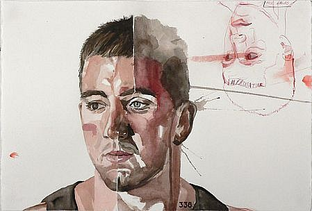 JACK BALAS, IMPRIMATUR watercolor