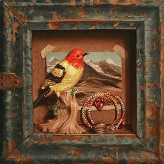JERRY KUNKEL, retrospection oil on canvas