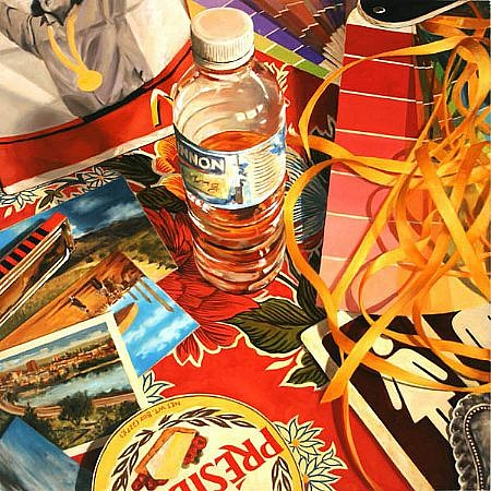 JERRY KUNKEL, CHANGE oil on canvas