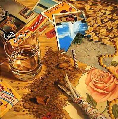 JERRY KUNKEL, MAGIC oil on canvas