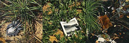 JERRY KUNKEL, MONDAY oil on canvas