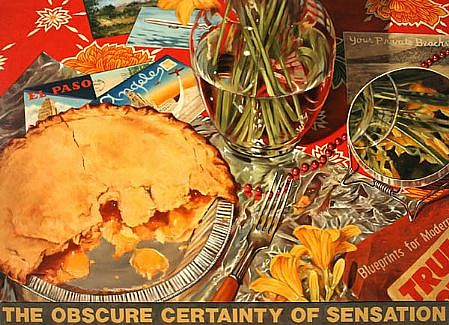 JERRY KUNKEL, OBSCURE CERTAINTY oil on canvas