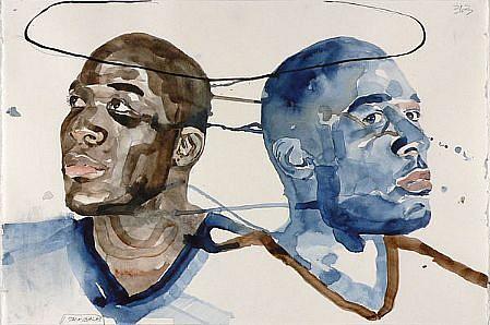 JACK BALAS, UNTITLED: MARQUIS watercolor