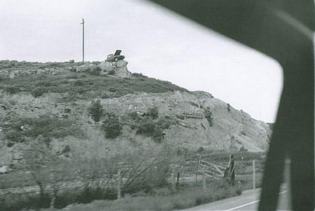 CHUCK FORSMAN, Monument, U.S. 89, central Utah black & white photograph