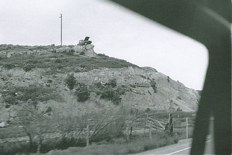 CHUCK FORSMAN, Monument, U.S. 89, central Utah black & white photograph