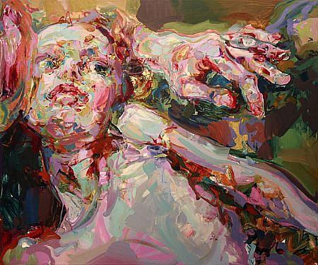 STEFAN KLEINSCHUSTER, INARA III oil on canvas