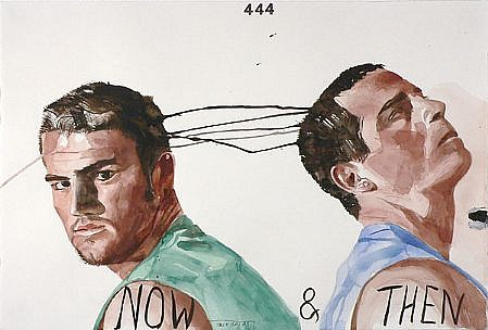 JACK BALAS, NOW AND THEN watercolor