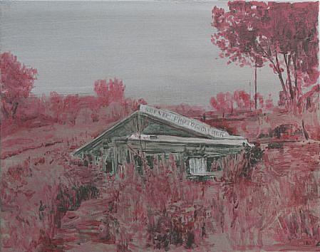 STEPHEN BATURA, residence L262 acrylic on canvas