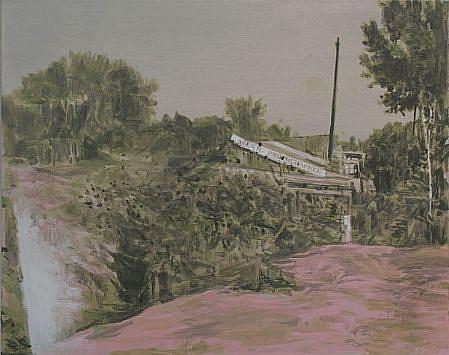 STEPHEN BATURA, residence L1137 acrylic on canvas