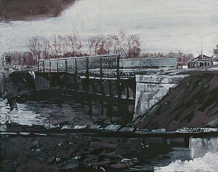 STEPHEN BATURA, residence L1183 acrylic on canvas