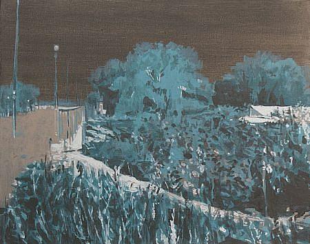 STEPHEN BATURA, residence L1186 acrylic on canvas