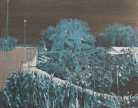 STEPHEN BATURA, residence L1186 acrylic on canvas