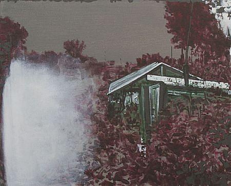 STEPHEN BATURA, residence L1368 acrylic on canvas