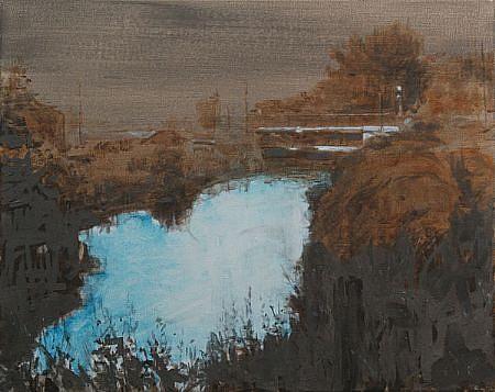 STEPHEN BATURA, residence L1549 acrylic on canvas