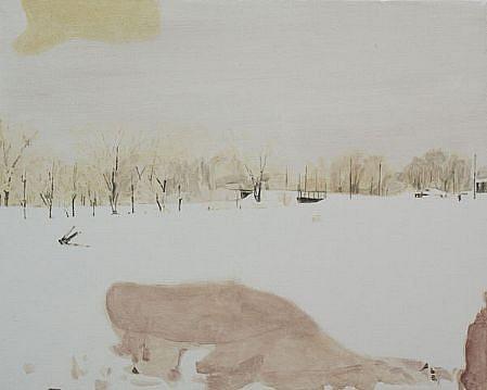 STEPHEN BATURA, residence L2039 acrylic on canvas