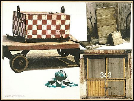 ROBERT RAUSCHENBERG, LOTUS I (THE LOTUS SERIES) Ed. 50 pigmented ink-jet print  on Somerset velvet