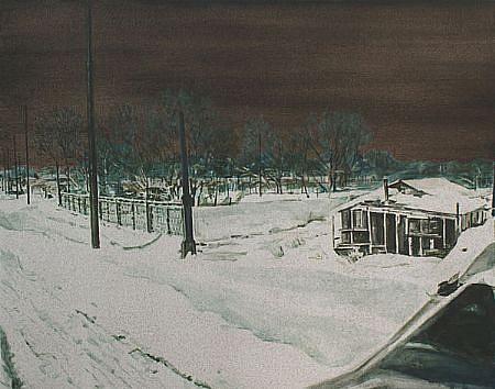 STEPHEN BATURA, scenic photographer acrylic on canvas