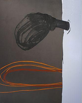 WENDI HARFORD, SLEEVELESS latex acrylic on canvas