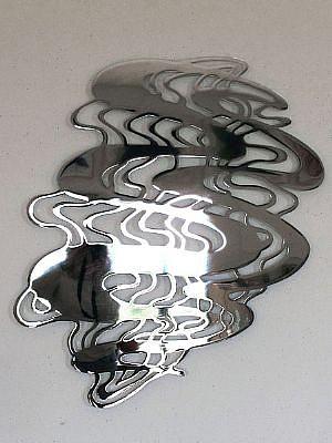LINDA FLEMING, WAVELENGTH Ed 2 chromed steel