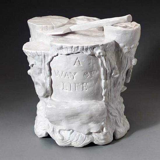 JEFF STARR, A Way of Life glazed ceramic