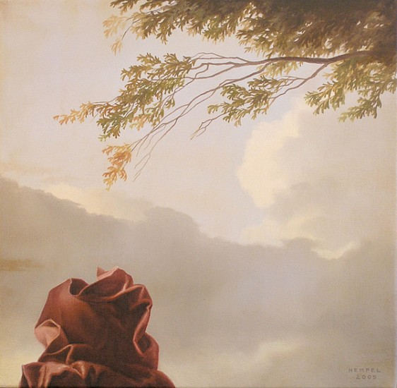 WES HEMPEL, UNTITLED # 16 oil on canvas