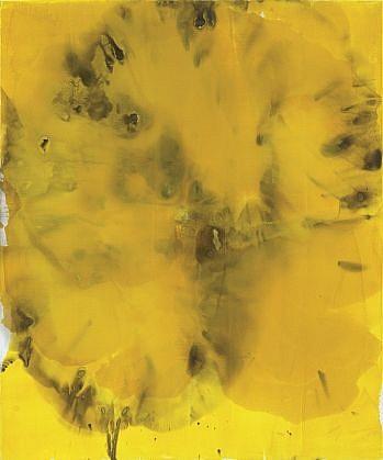 DIRK DE BRUYCKER, FIELD asphalt, cobalt drier, gesso and oil on canvas