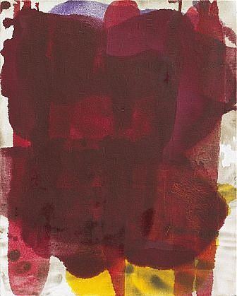 DIRK DE BRUYCKER, LOGOS asphalt, cobalt drier, gesso and oil on canvas