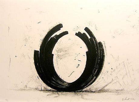 BERNAR VENET, VARIATIONS ON THE ARC X/X by Art of This Century lithograph