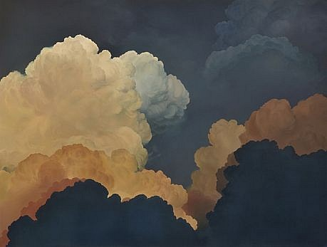IAN FISHER, ATMOSPHERE NO. 50 (FOLLOW YOU INTO THE DARK) oil on canvas