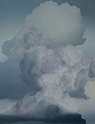 IAN FISHER, ATMOSPHERE NO. 49 (LOST TERRITORY) oil on canvas
