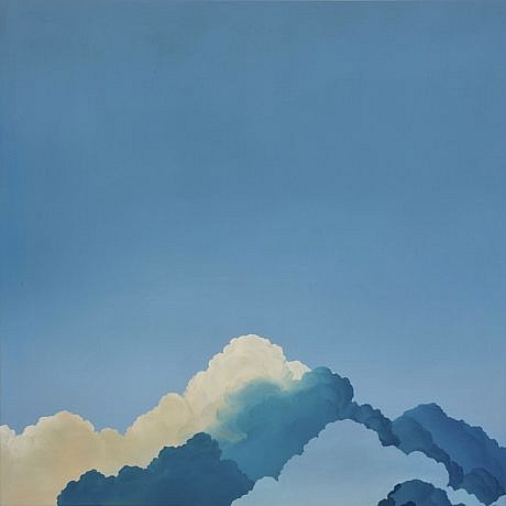 IAN FISHER, ATMOSPHERE NO. 51 (PARAMOUNT) oil on canvas
