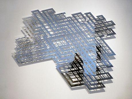 LINDA FLEMING, RICOCHET Ed. 3 chromed steel